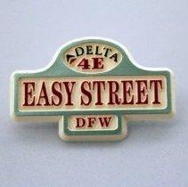Image of Delta 4E Easy Street DFW Pin - 1990