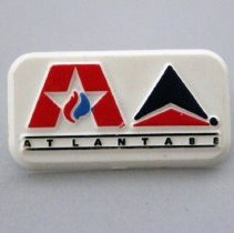 Image of Delta The Official Airline of the Democratic National Convention Pin - 1988