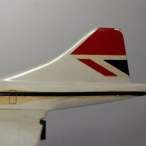 Image of British Airways Concorde Model Airplane