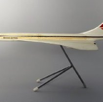 Image of British Airways Concorde Model Airplane - ca. 1976-1984
