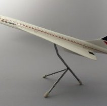 Image of British Airways Concorde Model Airplane - ca. 1985-1997