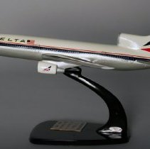 Image of Delta Lockheed L-1011 25 Years to San Francisco Model Airplane - 1986