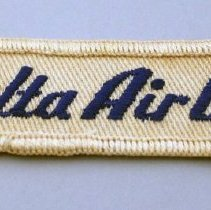 Image of Whit Hawkins' Delta Agent Uniform Patch - ca. 1955