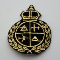 Image of Whit Hawkins' Delta Crest Patch - ca. 1990