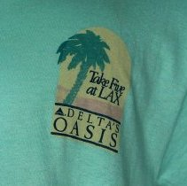 Image of Take Five at LAX Delta's Oasis T-Shirt