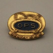 Image of Delta-C&S Ops Employee Lapel Pin - ca. 1953-1955