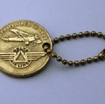 Image of Delta 30th Anniversary Keychain - 1959