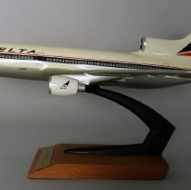Image of Delta Lockheed L-1011-500 Model Airplane - ca. 1979