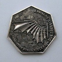 Image of DFW Dedication Medallion - 09/22/1973