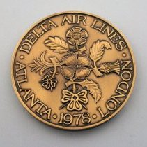 Image of Delta London Inaugural Medallion - 1978
