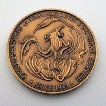 Image of Delta Frankfurt Inaugural Medallion - 1979