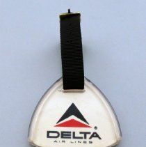 Image of Whit Hawkin's Bag Tag - 1970s