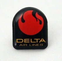 Image of Delta Official Airline of the 1982 World's Fair Pin - 1982