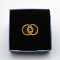 Image of Delta Flight 191 Accident Assistance Pin - 1985