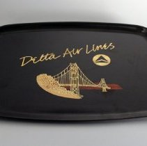 Image of Delta San Francisco Tray - ca. 1986