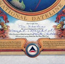 Image of Delta Air Lines International Dateline Award