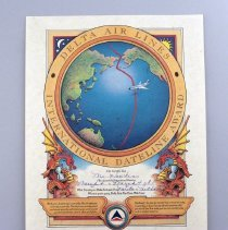 Image of Delta Air Lines International Dateline Award - 03/04/1987