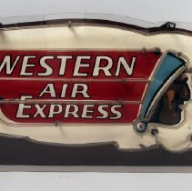 Image of Western Air Express Neon Sign - ca. 1930s-1940s