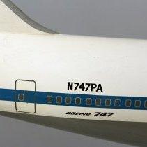 Image of Pan Am Boeing 747-200 cutaway Model Airplane