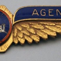 Image of Northeast Airlines Agent Uniform Wings - 1940