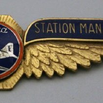Image of Northeast Airlines Station Manager Uniform Wings - 1940