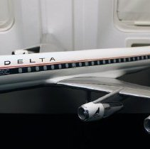 Image of Delta DC-8-51 Model Airplane - 1967-1970