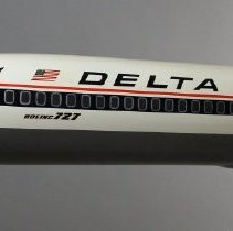 Image of Delta Boeing 727-232, N461DA, Ship 461, Model Airplane - 1970s