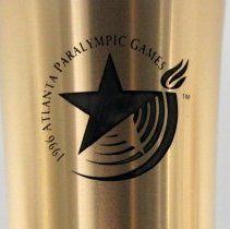 Image of 1996 Atlanta Paralympic Torch Relay Torch - 1996
