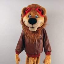 Image of Dusty The Delta Air Lion - ca. 1995-1999