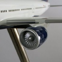 Image of Delta Boeing 777-200ER, N860DA, Model Airplane