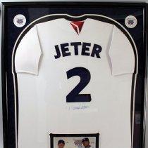 Image of Derek Jeter's New York Yankees Jersey - 2009