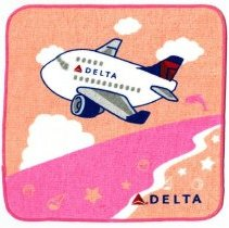 Image of Delta Japan-Guam/Honolulu Mini-Towel - ca. 2015