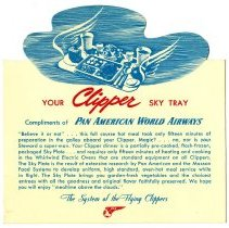 Image of Your Clipper Sky Tray - 1946