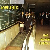Image of Moving Sidewalks Dallas Love Field - ca. 1958