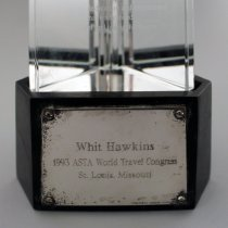 Image of Whit Hawkins' ASTA Lifetime Achievement Award - 1993