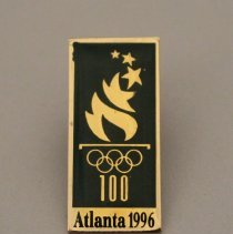 Image of 1996 Olympic Games Emblem Pin - 1996