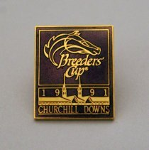 Image of Breeders' Cup 1991 Churchill Downs Pin - 1991