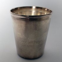 Image of Whit and Betty Hawkins' Mint Julep Cup - 04/30/2014