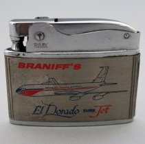 Image of Braniff Airways El Dorado Super Jet Lighter - ca. 1959