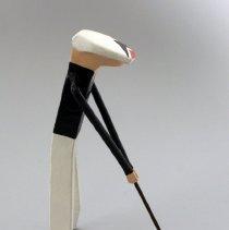 Image of Whit Hawkins' Golfer Figurine