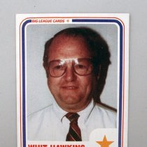 Image of Whit Hawkins' Baseball Legends Golf Scramble Baseball Card - 1986