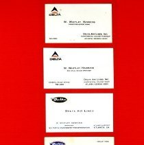 Image of Whit Hawkins' Business Cards - 11/1992