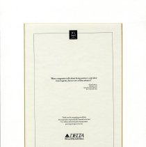 Image of REX Award Ad with Whit Hawkins' Quote - 1992