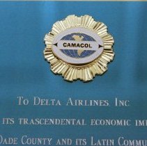 Image of Latin Chamber of Commerce of the U.S.A. (CAMACOL) Award to Delta