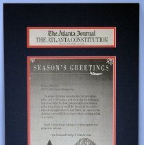 Image of Season's Greetings - 12/25/1992
