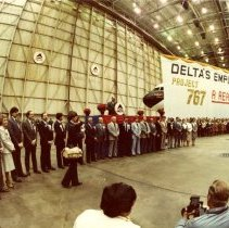 Image of Spirit of Delta Dedication Ceremony, Project 767 Committee - 12/15/1982