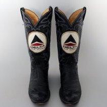 Image of Whit Hawkin's Delta El Paso Inaugural Cowboy Boots - 1982