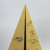 "Image of Delta Grammy Party Signed Metal ""Paper"" Airplane - 02/09/2017"