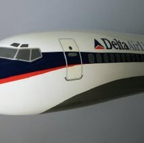 Image of Delta Boeing 727-200 Model Airplane -
