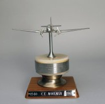 Image of C.E. Woolman's Gift from First Stewardess Class - 1965